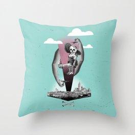 Brazo Fuerte Throw Pillow