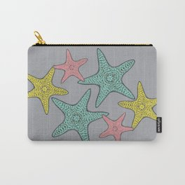 Starfish gray background Carry-All Pouch