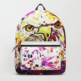 Grunge Eagle Sketch Backpack