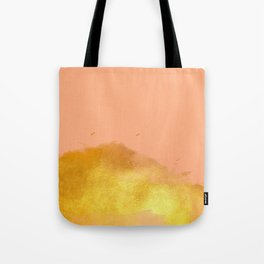 Tasty Sorbet - Gold Tote Bag