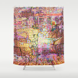 Never More Shower Curtain