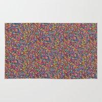 mosaic Area & Throw Rugs featuring Mosaic by Juliana Kroscen