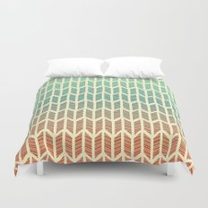 Quill Pattern Duvet Cover