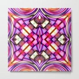 Magic Knot Pattern 01 Metal Print
