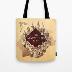 Marauder's map  Tote Bag