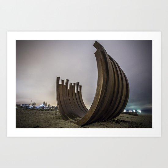 Structure Art Print