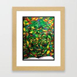 One By Land Framed Art Print