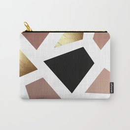 Colorblock Carry-All Pouch