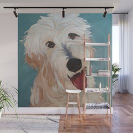Our Dog Floyd Wall Mural
