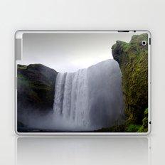 skogafoss waterfall, iceland. Laptop & iPad Skin