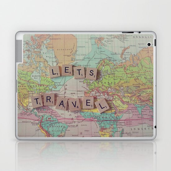 Let's Travel Laptop & iPad Skin