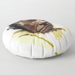 Charles Bukowski Floor Pillow