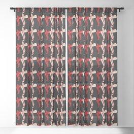 Fashion Legs Sheer Curtain
