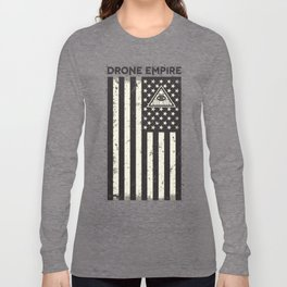 Drone Patriot  Long Sleeve T-shirt