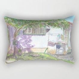 Colonial House 2 Rectangular Pillow