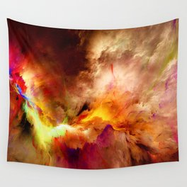 Pritty Clouds Wall Tapestry