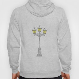 French Quarter Street Lamps Hoody