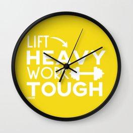 Sports Fitness hard work Wall Clock