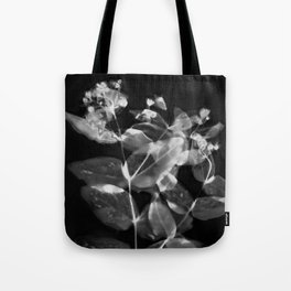 X Ray Blooms Tote Bag