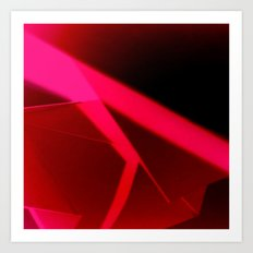 Red Block  Art Print