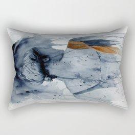Bag Lady Rectangular Pillow