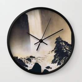 Morning in Ueno Wall Clock