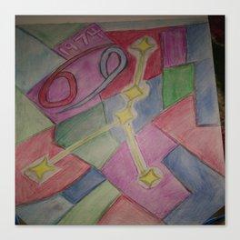 Cancer sketch Canvas Print