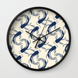 Koi Traditional Japanese Inspired 2 Wall Clock