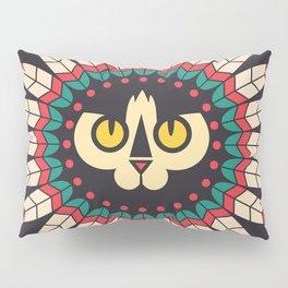 Indian Cat Pillow Sham