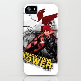 "InFamous Second Son - ""ENJOY YOUR POWER"" iPhone Case"