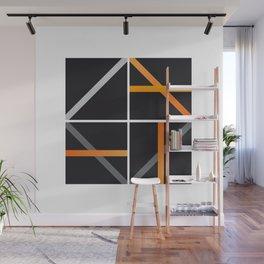 minimal arancio Wall Mural