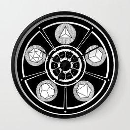 Plato's Heart Wall Clock
