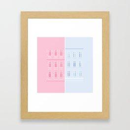 Berlin - Jahnstrasse Framed Art Print