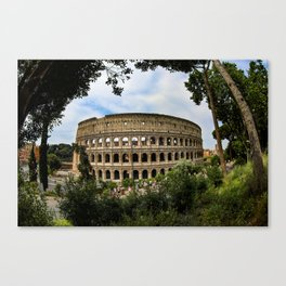 Colosseum - Rome - Italy Canvas Print