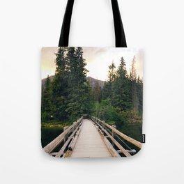 The Bridge to Pyramid Island Tote Bag