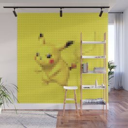 Electric Mouse - Legobrick Wall Mural