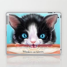 Whiskers on Kittens Laptop & iPad Skin
