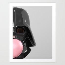 Darth Vader Bubble Gum 02 Art Print