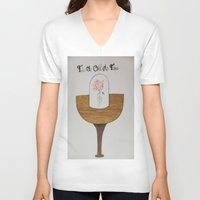 hakuna V-neck T-shirts featuring Beauty and The Beast :) by BritniSimone