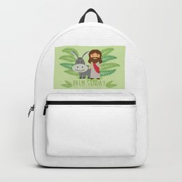 Happy Palm Sunday Backpack