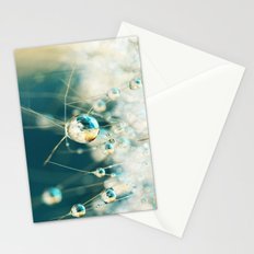 Sea Blue & Sand Cactus Drops Stationery Cards