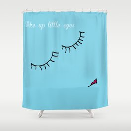Little Eyes Shower Curtain
