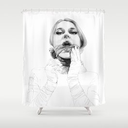 A touch of silk Shower Curtain