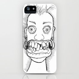 Crooked iPhone Case