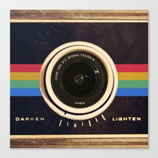 Modern Vintage inspired Camera! Canvas Print