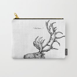 """TypoAnimal - """"Oh Deer..."""" Carry-All Pouch"""