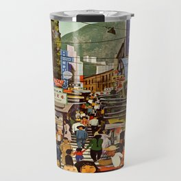 Vintage poster - Hong Kong Travel Mug
