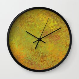 Liquid Hues Illustration Wall Clock