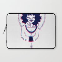 3d Laptop Sleeves featuring 3D by Alvina F.