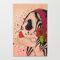 gypsy Canvas Prints featuring Gypsy by Dioni Pinilla